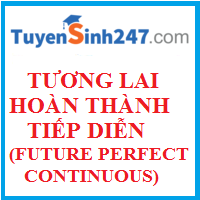 Thì tương lai hoàn thành tiếp diễn (Future perfect continuous tense)