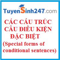 Các cấu trúc câu điều kiện đặc biệt (Special forms of conditional sentences)