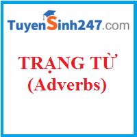 Các loại trạng từ phổ biến và đặc điểm của chúng (Types of Adverbs)