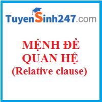 Mệnh đề quan hệ và các đại từ quan hệ cơ bản (Relative clauses and Relative pronouns)))