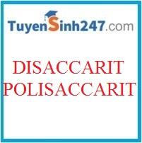 Chuyên đế bài tập disaccarit và polisaccarit