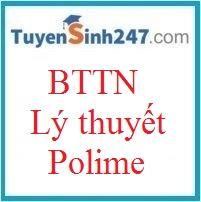 BTTN lí thuyết polime