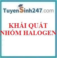 Khái quát nhóm halogen
