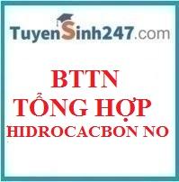 BTTN tổng hợp Hidrocacbon no