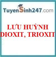 Lưu huỳnh dioxit, trioxit