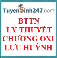 BTTN lý thuyết chương oxi lưu huỳnh (có lời giải chi tiết)