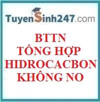 BTTN tổng hợp hidrocacbon không no