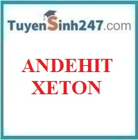 Andehit - Xeton