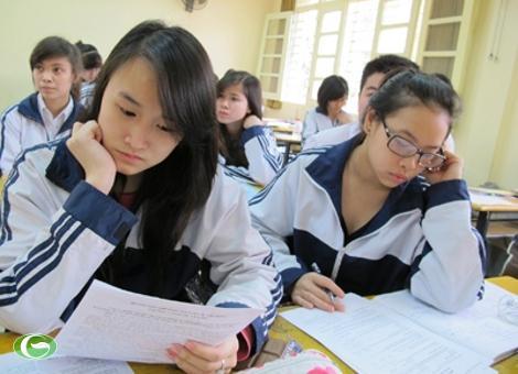 Đề thi giữa học kì 2 lớp 7 2015 môn Tiếng Anh - THCS Cự Khê