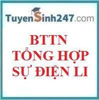 BTTN tổng hợp sự điện li