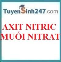 HNO3 và muối nitrat