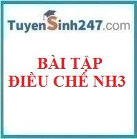 Bài tập điều chế NH3