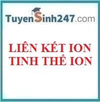 Liên kết ion - Tinh thể ion