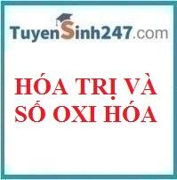 Hóa trị và số oxi hóa