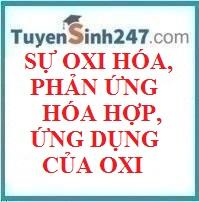 Lí thuyết :Sự oxi hóa - phản ứng hóa hợp - ứng dụng của oxi