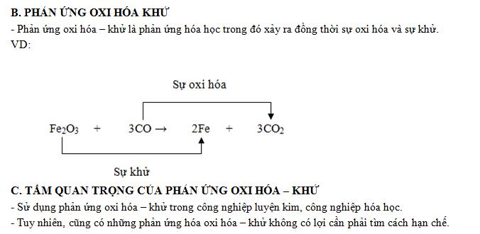 LT phản ứng oxi hóa - khử