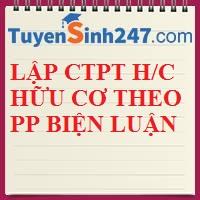 Lập CTPT hợp chất hữu cơ dựa vào PP biện luận