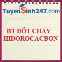 PP giải BT đốt cháy hiđrocacbon (Nâng cao)