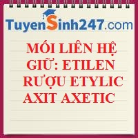 Mối liên hệ giữa etilen - rượu etylic - axitaxetic