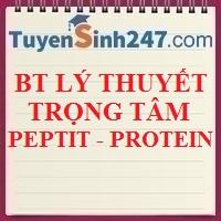 Lý thuyết trọng tâm về peptit và protein