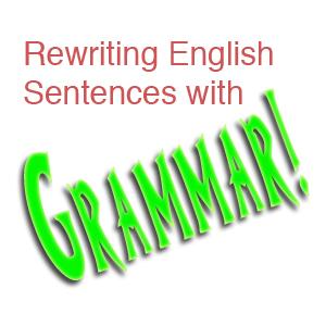 Các cấu trúc viết câu thông dụng nhất