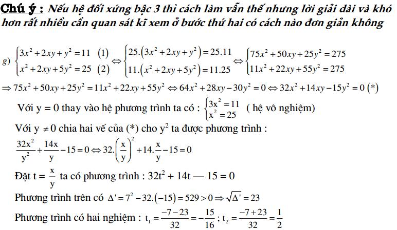 Các dạng bài tập đại số 9 thi vào 10 và một số lưu ý khi giải - phần 2