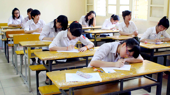 Đề thi học kì 1 lớp 6 môn Toán năm 2015 trường THCS Hoa Lư