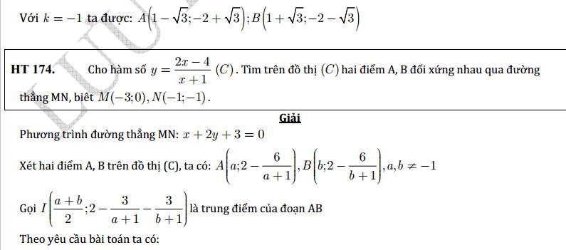 Tất tần tật những bài toán ôn tập chuyên đề hàm số theo từng dạng - có lời giải chi tiết (rất hay)