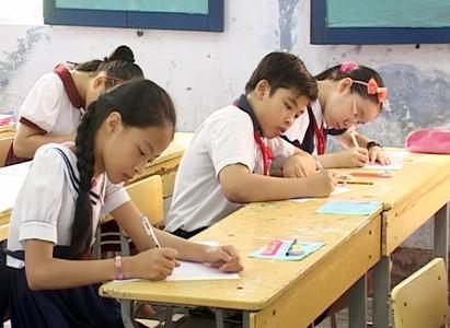 Đề thi học kì 1 môn Hóa Học lớp 8 trường THCS Hải Đình 2014