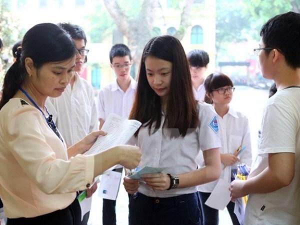 Đề thi học kì 1 lớp 8 môn Anh trường THCS Phan Châu Trinh năm 2015