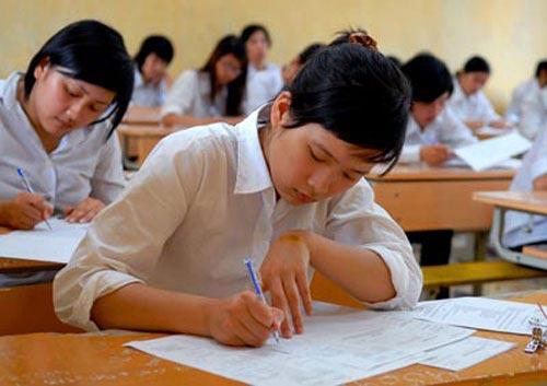 Đề thi học kì 1 môn Anh lớp 9 - THCS Phan Bội Châu năm 2014