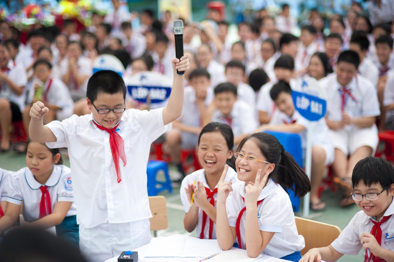 Đề thi giữa học kì 1 môn Tiếng Việt lớp 5 trường Tiểu học Hùng Thắng năm 2014