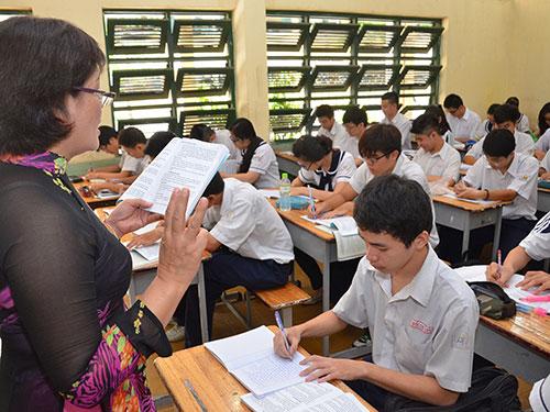 Đề thi cuối học kì 1 môn Tiếng Việt lớp 4 TH Lương Tài năm 2014