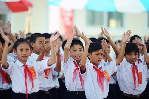 Đề thi học kì 1 lớp 3 môn Tiếng Việt trường Tiểu học Lê Trực năm 2014