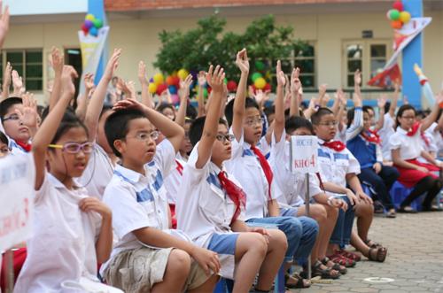 Đề thi học kì 1 môn Tiếng Việt lớp 1 năm 2014 trường Tiểu Học An phú tân A