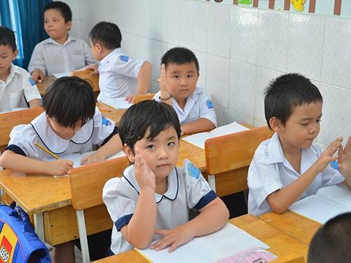 Đề thi học kì 1 môn Tiếng Việt lớp 2 năm 2015 trường Tiểu Học Nguyễn Bá Ngọc