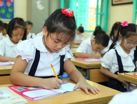 Đề thi học kì 1 môn Tiếng Việt lớp 1 năm 2014 trường Tiểu Học Nghĩa Phong