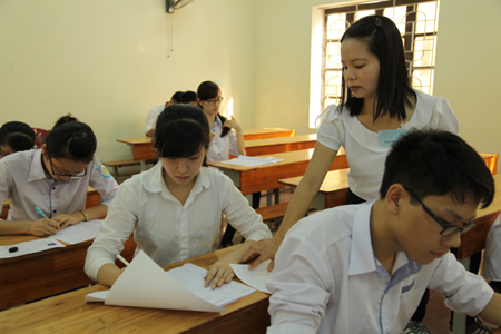 Đề thi 8 tuần giữa học kì 1 lớp 6 môn Toán năm 2015 - Xuân Trường