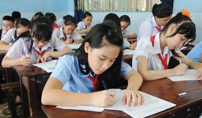 Đề kiểm tra giữa học kì 1 môn Toán lớp 7 trường THCS Yên Phong 2016