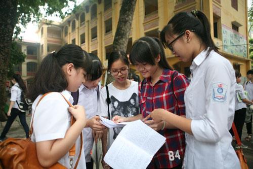 Đề thi giữa học kì 1 năm 2016 môn Anh lớp 8 trường THCS Nguyễn Tông Quai