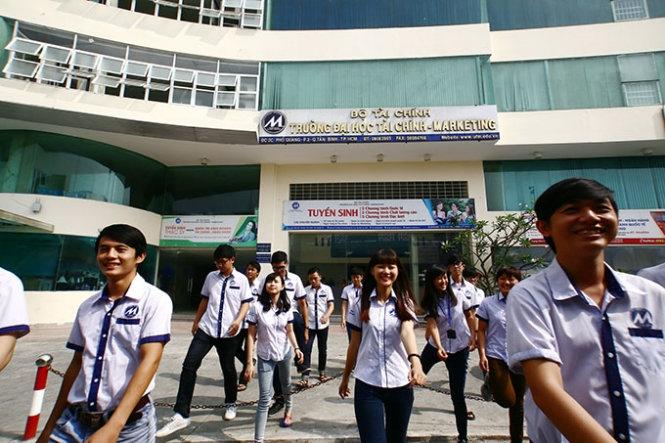 Trường ĐH Tài chính - Marketing công bố phương án tuyển sinh 2017
