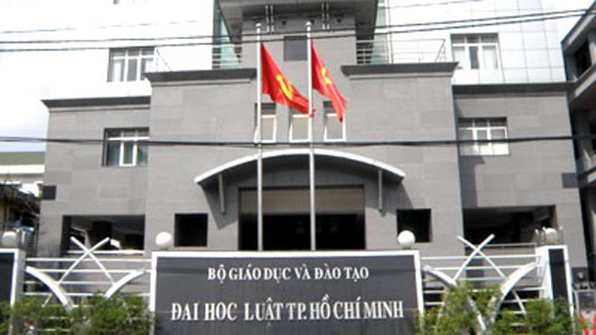 Trường ĐH Luật TP.HCM công bố phương án tuyển sinh dự kiến 2017