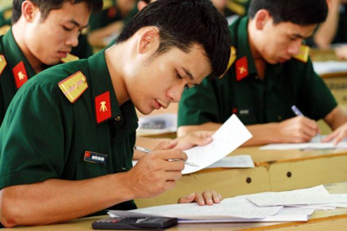 Chỉ tiêu các trường Quân đội năm 2017