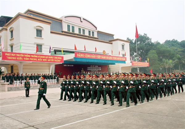 Trường Sĩ quan Lục quân 1 công bố phương án tuyển sinh 2017