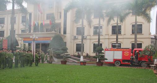 Đại học Phòng cháy chữa cháy công bố phương án tuyển sinh 2017