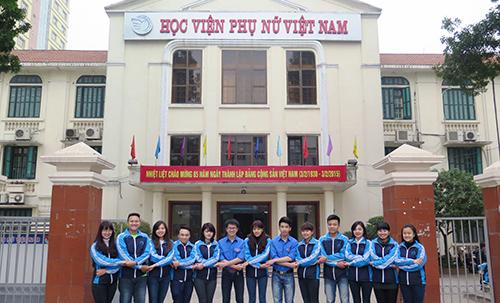 Học viện Phụ nữ Việt Nam công bố phương án tuyển sinh 2017