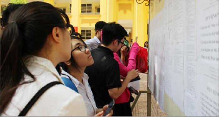 Hôm nay, hoàn tất lọc thí sinh để công bố điểm chuẩn đại học 2017