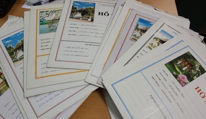 Hồ sơ nhập học tân sinh viên - Tất cả các trường năm 2017