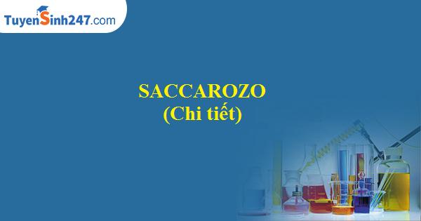Saccarozo (chi tiết)