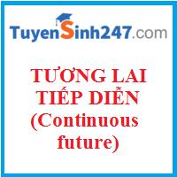 Thì tương lai tiếp diễn (Continuous future tense)